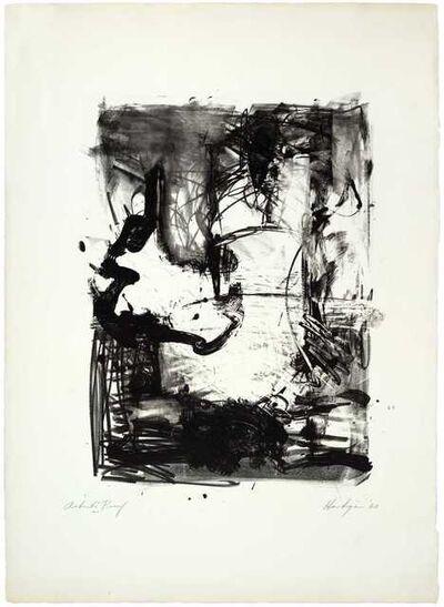 Grace Hartigan, 'The Hero Leaves His Ship I', 1960
