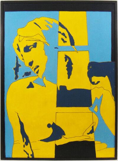 Tano Festa, 'Da Michelangelo', 1966