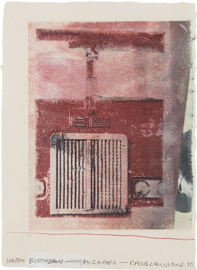 Robert Rauschenberg, 'Untitled', 1990
