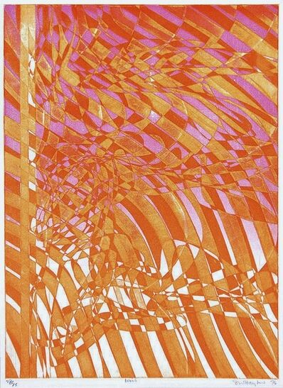 Stanley William Hayter, 'Wind', 1974