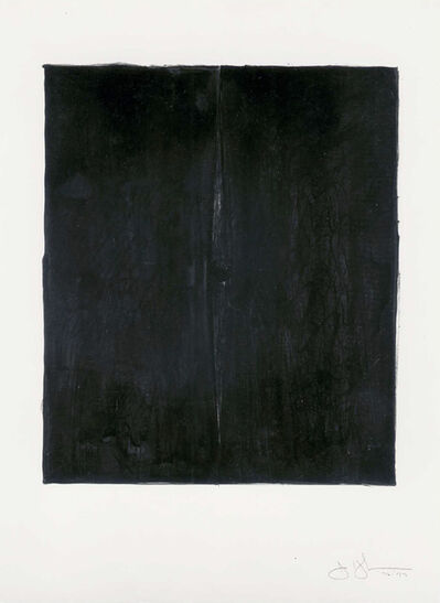 Jasper Johns, 'Painting with a Ball', 1973