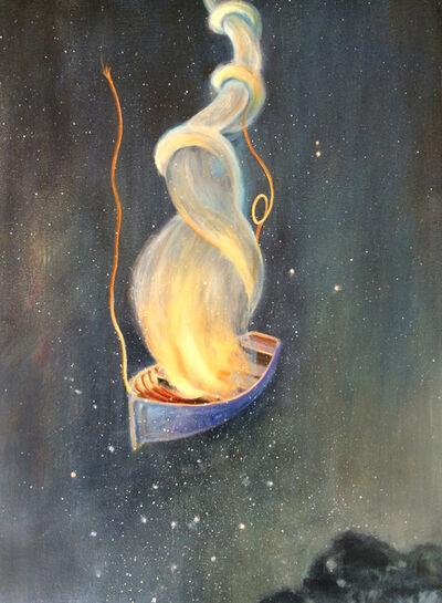 Deborah Davidson, 'Viking Funeral', 2014