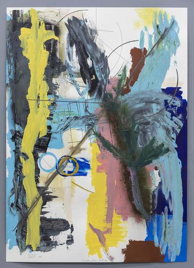 Pedro Cabrita Reis, 'Les Peintures Joyeuses, Série IV, #3', 2019