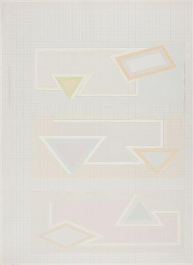 Frank Stella, 'Pastel Stack (Axsom 48)', 1970
