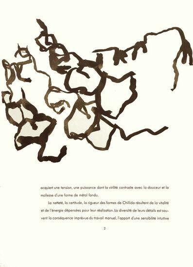 Eduardo Chillida, 'From 'Derrière le Miroir - Chillida'', 1961