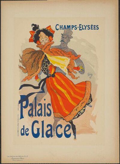 Jules Chéret, 'Ice Palace (Plate 17)', 1896