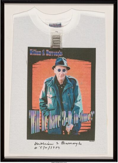 William S. Burroughs, 'Will He Have 3-D In Time', 1996