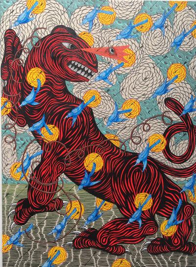 Andrew Schoultz, 'Unbound Beast', 2017