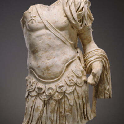 'Torso of a Cuirassed Statue',  about 83 -85