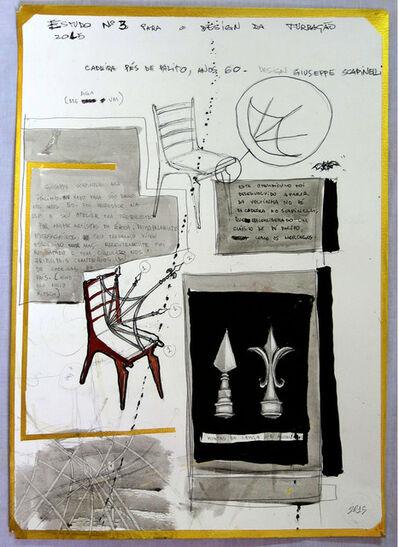 Daniel Murgel, 'Estudo n°3 para Design da Turbação [Study n°3 for Design of Disturbance]', 2015