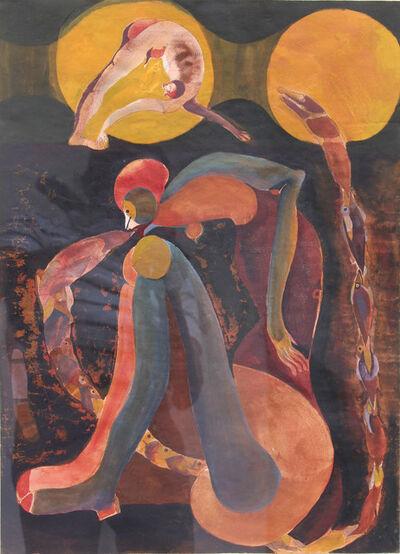 Francisco Toledo, 'Mujer con peces', 1968