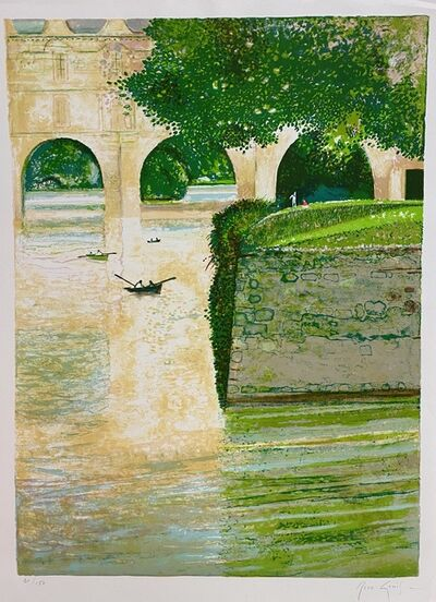 Rene Genis, 'Bords du Chenonceau', 1989