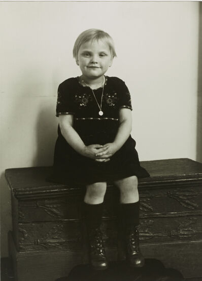 August Sander, 'III/14/2 Middle-class Child', 1926