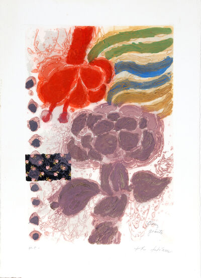 Theo Tobiasse, ' Les Fleurs Geantes', 1981