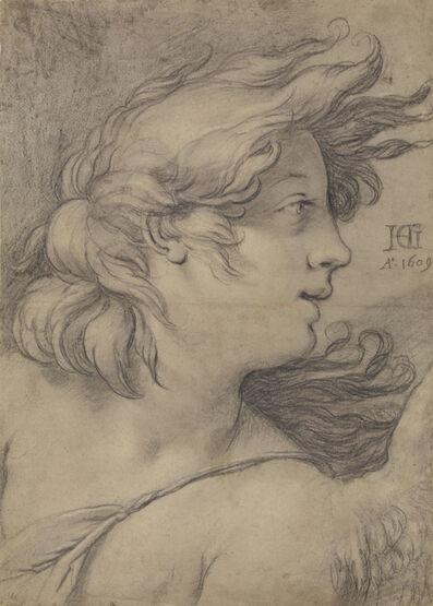 Hendrik Goltzius, 'Bust of an Angel', 1609