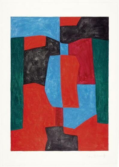 Serge Poliakoff, 'Composition rouge, verte et bleue', 1969