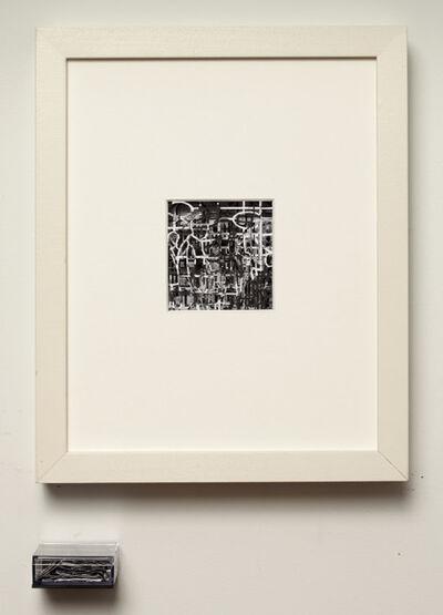 Doug Beube, 'Speechless: Outline', 2015
