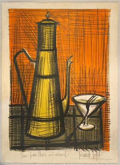 Bernard Buffet, 'Nature Morte à la Cafétière', 1955