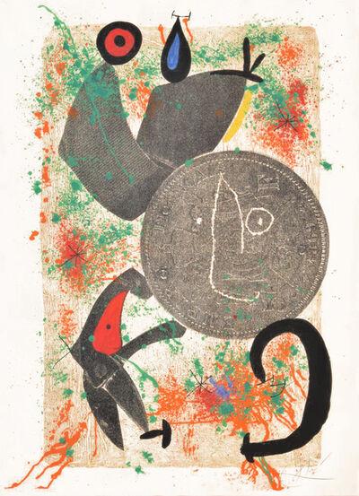 Joan Miró, 'Le Croc a Phynances II (The Crooked Phynancial Phang II)', 1971