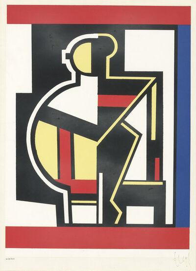 After Fernand Léger, 'COMPOSITION MÉCANIQUE (SAPHIRE E24)', 1953