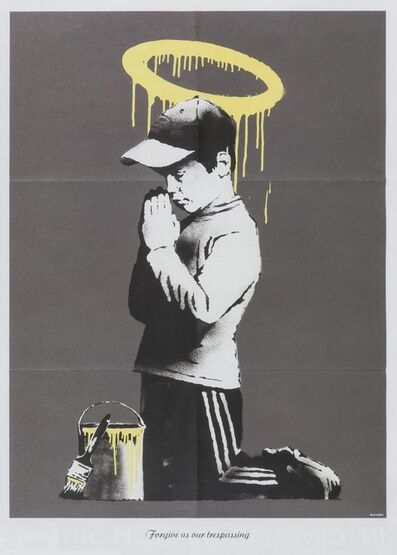 Banksy, 'Forgive us our trespasses', 2010