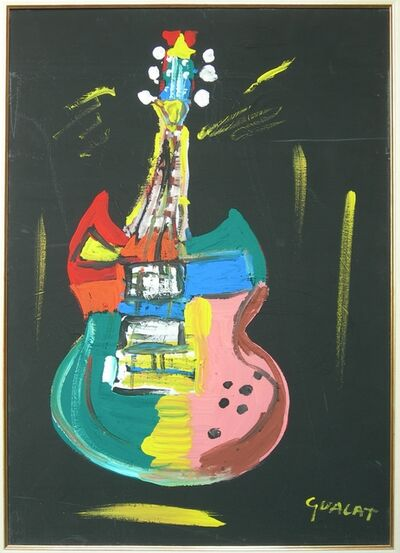 Maria Teresa Guala, 'Rock guitar', 2013