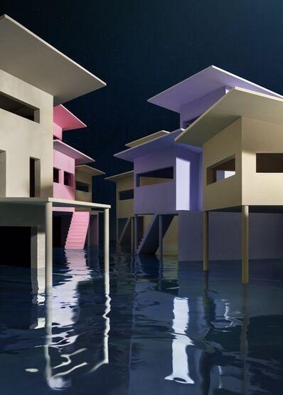 James Casebere, 'Flooded Street', 2019