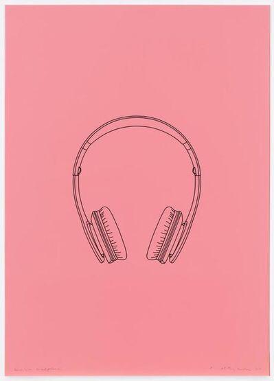 Michael Craig-Martin, 'Wireless headphones', 2017
