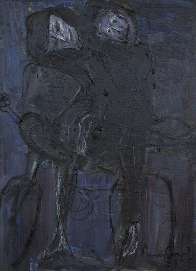 Iberê Camargo, 'Motociclistas', 1988