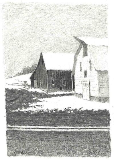 Rolland Golden, 'Winter Barns ', ca. 2004