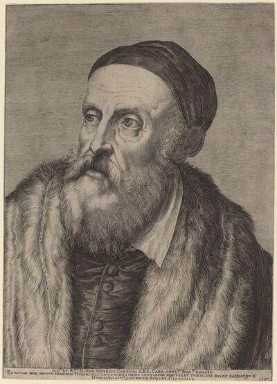 Agostino Carracci, 'Titian', 1587