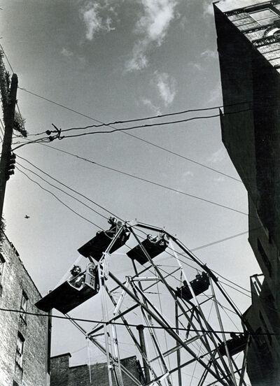 André Kertész, 'Ferris wheel, June 13', 1965