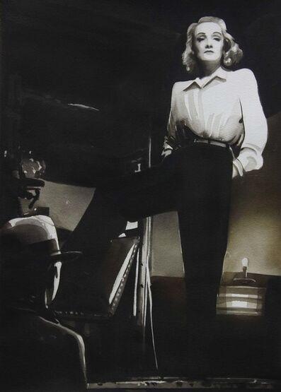 "Radenko Milak, 'Marlene Dietrich, from the series ""Female Heroes""', 2016"
