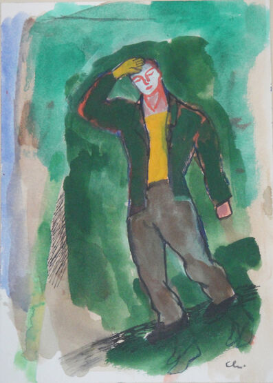 Sandro Chia, 'Untitled (Headache/Mal di testa)', 2000-2009