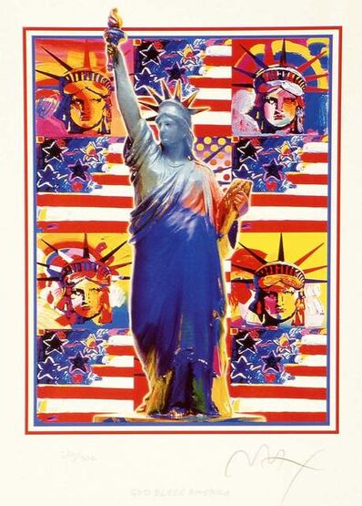 Peter Max, 'Good Bless America', 2002