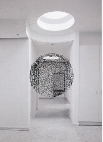 "Georges Rousse, '""Luxembourg: Fers à Bétons""', 2004"