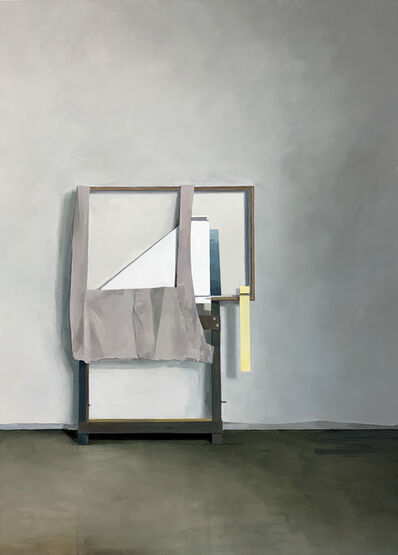 Jenny Brillhart, 'Arrangement with Linen and Easel ', 2019