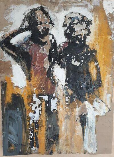 Armand Boua, 'Les frè sang (Les inséparable)', 2018