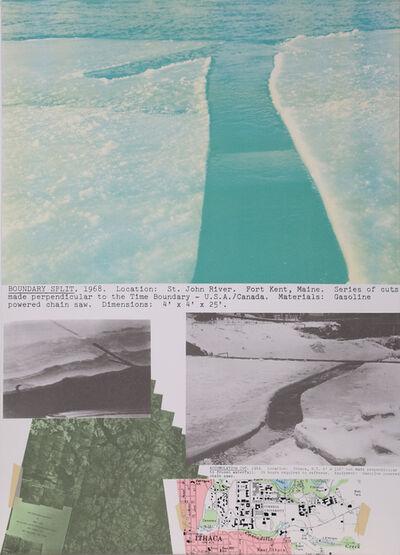 Dennis Oppenheim, 'Boundary Split', 1979