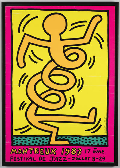 Keith Haring, 'Montreux (I)', 1983