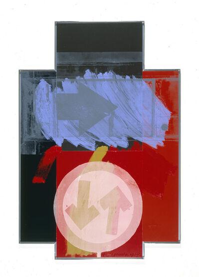 Robert Rauschenberg, 'Street Archer (Urban Bourbon)', 1992