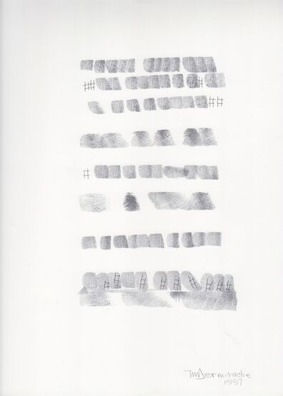 Mirtha Dermisache, 'Sin título (Texto)', 1997