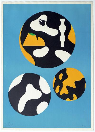 Hans Arp, 'De La Famille Des Etoile', 1965
