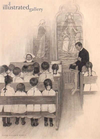 JESSIE WILLCOX SMITH, 'Chapel Grace Church Nursery'