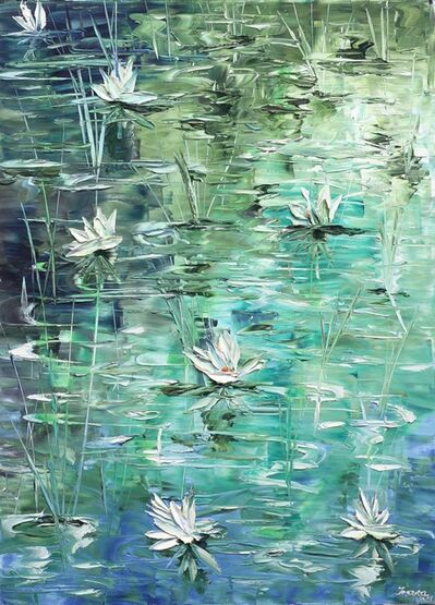 Ivana Milosevic, 'Waterlilies', 2017