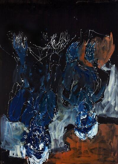 Georg Baselitz, 'Yellowred Orange Turns Into Bluedark', 2012