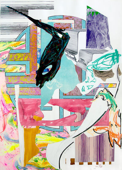 Frank Stella, 'The Quarter-Deck from The Waves', 1989
