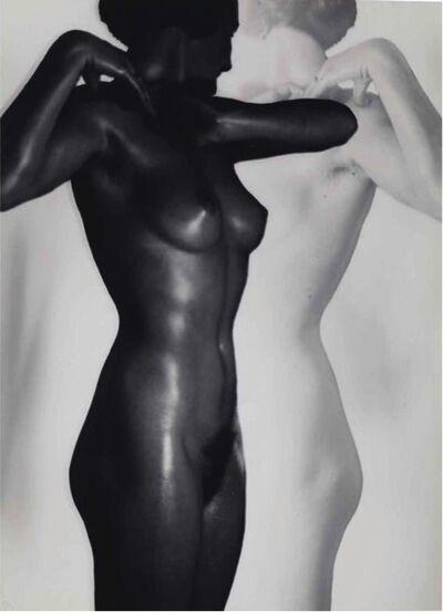 Heinz Hajek-Halke, 'Black & White Nude', 1930-1936