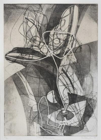 Stanley William Hayter, 'Trois Personnages', 1951