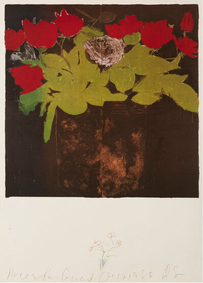 Donald Sultan, 'Flowers', 1986
